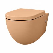 Artceram FILE 2.0 Унитаз подвесной безободковый 36х52 см, с креплениями, цвет arancio cammeo