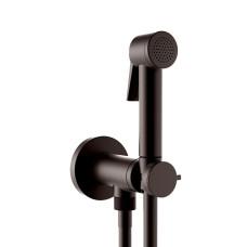 Bossini Paloma Flat Гигиенический душ с прогрессивным смесителем, черный матовый