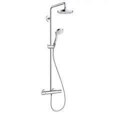 Hansgrohe Croma Select S Showerpipe 180 2jet EcoSmart 9 л/мин с термостатом, 27254400