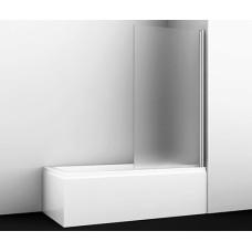 Berkel 48P01-80R Matt glass Стеклянная шторка на ванну, Wasserkraft