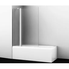 Berkel 48P02-110L Matt glass Fixed Стеклянная шторка на ванну, Wasserkraft