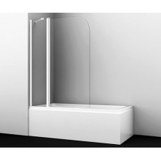 Leine 35P02-110WHITE Fixed Стеклянная шторка на ванну, Wasserkraft