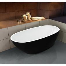Ванна отдельностоящая Esbano Sophia (black). Размер: 1700x850x560.