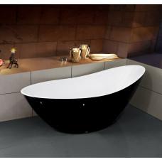 Ванна отдельностоящая Esbano London (Black). Размер: 1800x800x750.