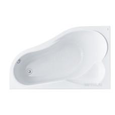 Акриловая ванна Santek Ибица XL 160х100 L асимметричная белая 1WH112036