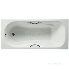 Ванна Roca Malibu 160х75 с отверстиями для ручек 2310G000R