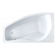 Акриловая ванна Santek Майорка XL 160х95 L асимметричная белая 1WH111991