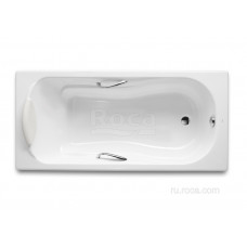 Ванна Roca Haiti 170x80 с отверстиями для ручек 2327G000R