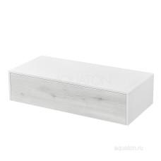 Комод Aquaton Сакура 100 ольха наварра, белый глянец 1A234803SKW80