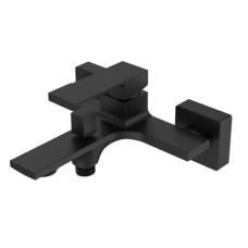 AQG Bold, однорычажный смеситель для ванны без ручного душа, цвет черный матовый