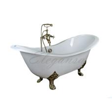 Чугунная ванна Elegansa Taiss gold