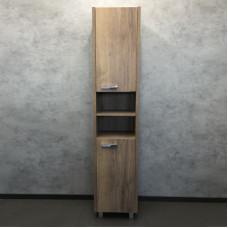 Comforty. Шкаф-колонна Марио-40 дуб темный
