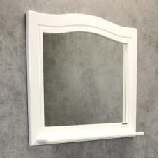 "Comforty. Зеркало ""Павия-100"" белый глянец"