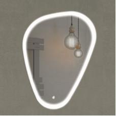 Comforty. Зеркало Олеандр-70 светодиодная лента, сенсор 700*900