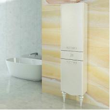 "Comforty. Шкаф-колонна ""Монако-40"" левая белый глянец"
