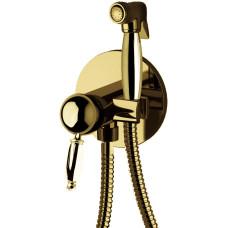 Daniel Retro, гигиенический душ со смесителем на хол./гор. воду, цвет бронза