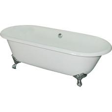 Чугунная ванна Elegansa Gretta хромированные ножки