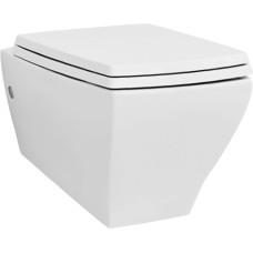 Artceram Jazz Унитаз подвесной 54х36 см, цвет белый матовый