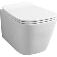 Artceram A16 MINI Унитаз подвесной безободковый 36х45 см, цвет белый, сиденье в комплекте