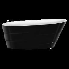 Акриловая ванна LAGARD AUGUSTE Black Agate