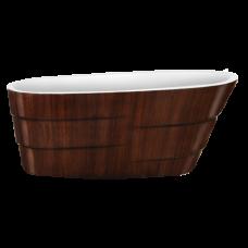 Акриловая ванна LAGARD AUGUSTE Brown wood