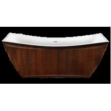 Акриловая ванна LAGARD ISSA Brown wood
