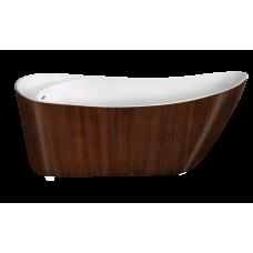 Акриловая ванна LAGARD MINOTTI Brown wood