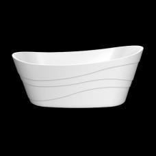 Акриловая ванна LAGARD ALYA White Star