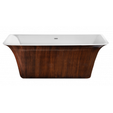 Акриловая ванна LAGARD EVORA Brown wood