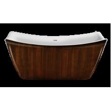 Акриловая ванна LAGARD MEDA Brown wood
