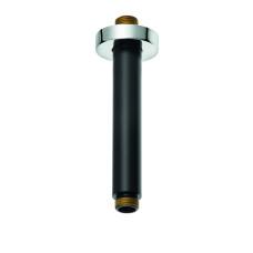 A-QA Потолочный кронштейн для верхнего душа, 150 мм, черный/хром, 6651587-00