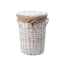 Aller WB-106-L Плетеная корзина для белья с крышкой