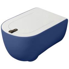 Artceram THE ONE Унитаз подвесной безободковый , 52х35, с креплениями, цвет blu zaffiro
