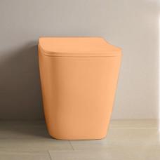 Унитаз приставной ArtCeram A16, цвет arancio cammeo