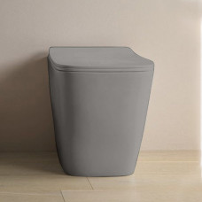 Унитаз приставной ArtCeram A16, цвет grigio oliva
