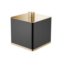 Контейнер Boheme Venturo 10964-B-G настольный, золото/черный