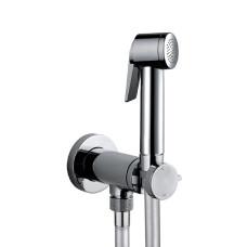 Bossini Paloma Flat Гигиенический душ с прогрессивным смесителем, хром