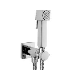 Bossini Cube Brass Гигиенический душ с прогрессивным смесителем, хром