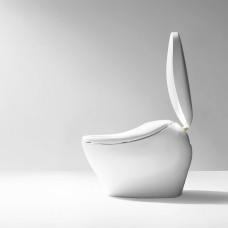 TOTO Neorest NX Унитаз напольный, с электронный сидением, 46.8x80x56.5cм, выпуск в пол, безободковый, Tornado Flush, Cefiontest, цвет: белый