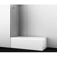 Berkel 48P01-80 Fixed Стеклянная шторка на ванну, Wasserkraft