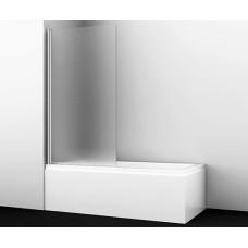 Berkel 48P01-80L Matt glass Стеклянная шторка на ванну, Wasserkraft
