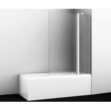 Berkel 48P02-110R Matt glass Fixed Стеклянная шторка на ванну, Wasserkraft