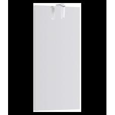 """""""""""Леон-МР"""""""" панель с зеркалом и светильником Ln-MP.02.04/W, цвет белый, 400*800*20"""