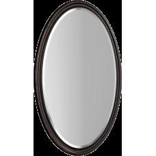 """""""Borgia"""" панель с зеркалом 100, цвет черный мат с патиной медь BOR0210BLK"""