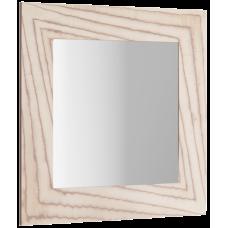 """Papyrus-wood"" зеркало в раме, цвет светлое дерево  Pap-w.02.10/LIGHT, 1000*1000*10"