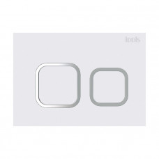 Клавиша смыва, универсальная,матовый белый, Unifix, 040, IDDIS, UNI40MWi77