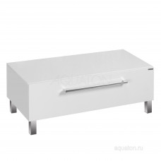 Комод Aquaton Мадрид 100 М с ящиком белый 1A127903MA010