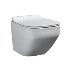 Alster Унитаз подвесной с сиденьем микролифт белый глянец 86303201