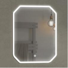 "Comforty. Зеркало ""Колеус-65"" LED-подсветка, сенсор 650*800"