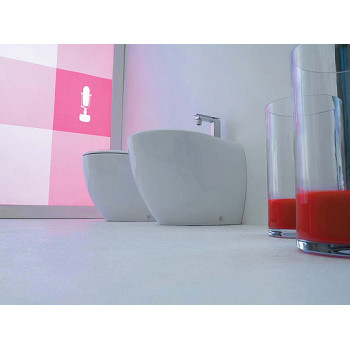 Биде напольное ArtCeram Blend BLB002 белое